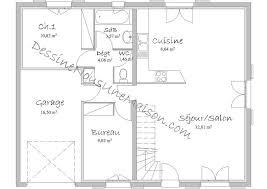 plan de maison gratuit 3 chambres plan de maison traditionnelle gratuit plan maison plain pied 3 4