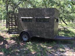 5x9 hunting trailer blinds atascosa wildlife supply texas deer 5 9 wheelchair trailer blind bushlan camo