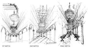 Interior Decoration Sketches Methods Of Representation In Interior Design Practices An Inquiry