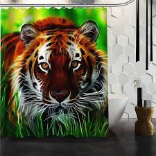 White Tiger Shower Curtain Online Get Cheap Curtains Tiger Aliexpress Com Alibaba Group