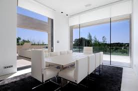 modern white dining room table modern white dining rooms homes abc