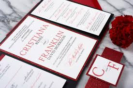 wedding invitations in cristiana wedding invitation suite all that glitters