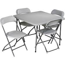 Folding Outdoor Table And Chair Sets Office Star Work Smart 5 Piece Folding Table And Chair Set