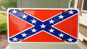 Rebel Flag Image Confederate Flag License Plate Patriot Depot