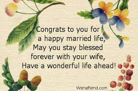 happy married quotes congratulations