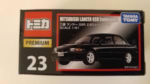 mitsubishi lancer evo 3 トミカ takara tomy tomica premium 23 mitsubishi lancer gsr