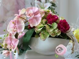 goldene hochzeit blumen romantisch geschenk zur goldenen hochzeit dekoration aus blumen