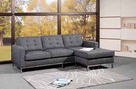 grey l shaped sofa bed dark gray l shaped couches fabrizio design stylish l shaped