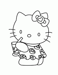 coloring pages of hello kitty coloring pages wallpaper