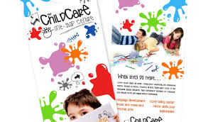 daycare brochure template day care brochure exles daycare brochure templates free premium