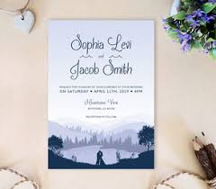 mountain wedding invitations inexpensive wedding invitations lemonwedding