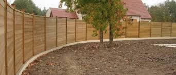 cloture jardin bois paysagiste tours le jardin d olivier clôture bois