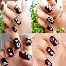 30 sheets floral design 3d nail art stickers decals manicure how