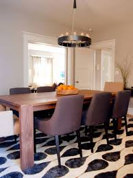 Modern Dining Room Rugs Geometric Area Rugs Make A Statement Without Saying A Word