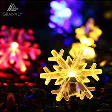 chasing snowflake christmas lights factory price 4 8m halloween decorations snowflake solar operated