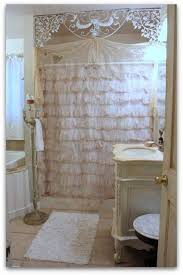 Burlap Ruffled Curtains Shabby Chic Ruffle Curtain Rare Best Ruffled Curtains Ideas On