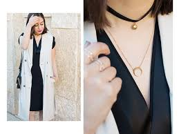wear collar necklace images 34 best how to style a choker necklaces images jpg