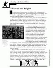ancient times education and religion activity packet teachervision