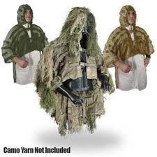 Ghillie Suit Halloween Costume Swank U0027s Lightweight Stalking Tog Ghillie Jackets Ghillie Suit