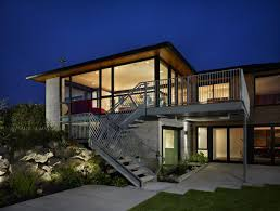 modern contemporary house plans exposed concrete style สวย simply