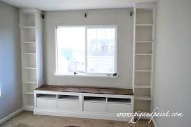Bench Dazzling How To Build A Window Seat With Storage Video