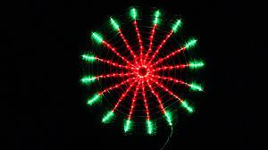 red and green led christmas lights 192 led red green circle net christmas lights with clock dial