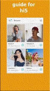 hi5 apk guide for hi5 meet chat flirt hi5 apk android social