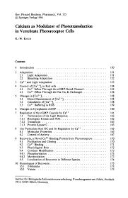 Vendor Contract Template 7 Download Calcium As Modulator Of Phototransduction In Vertebrate