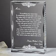 personalized keepsake gifts for mothers dear poem