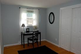 simple office paint color light french gray by behr decor