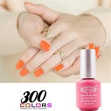 perfect summer uv gel nail polish colors glitter with base coat