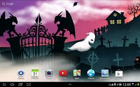 halloween night live wallpaper android apps on google play