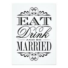 eat drink and be married invitations 274 best eat drink and be married wedding invitations images on