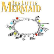 ebay charm bracelet silver images Little mermaid charms ebay JPG