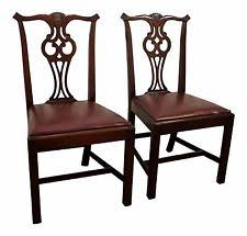 chippendale antique dining chairs ebay