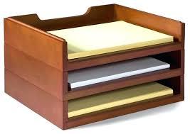 cute desk organizer tray desk letter tray smoke portrait letter tray wood desk paper tray
