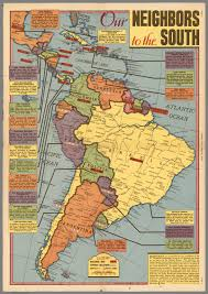 south america map buy our neighbors to the south south america sunday news may 21