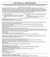Best Accounting Resume Best Staff Accountant Resume Example Livecareer