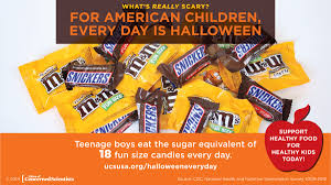 kids need healthy food not halloween every day union of