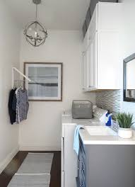 laundry room in bathroom ideas modern laundry room makeover the home depot blog