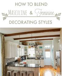Masculine Home Decor How To Blend Masculine And Feminine Decorating Styles Home