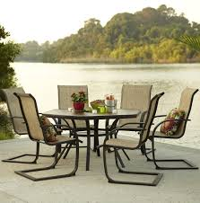 Aluminum Patio Tables Sale Patio Add Elegance To Any Exterior Living Space With Macys Patio