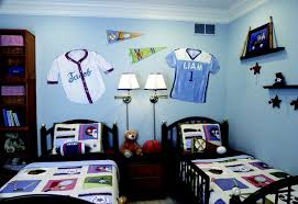 nice blue and white decoration for kids room bedroom aprar