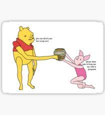 Pooh Meme - winnie the pooh meme gifts merchandise redbubble