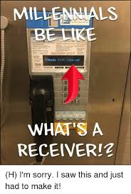 Lift Memes - millennials be ike please lift receiver what s a receiver h i m
