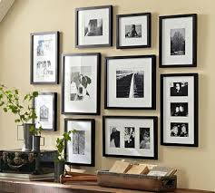 Wood Gallery Shelf by Gallery In A Box Black Frames Set Of 10 Woods Box And Galleries