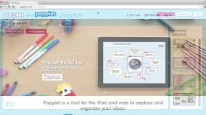 Mapping Tools How To Make A Popplet A Mind Mapping Tool Youtube