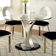 Glass Round Kitchen Table Central Glass Round Kitchen Table Tags Round Glass Kitchen Table