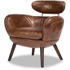 Brown Leather Accent Chair Wellingtons Leather Chair With Casters Leather Accent