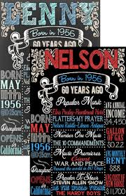birthday gifts 60 year 25 best birthday chalkboards images on